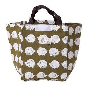 Handbags - Hedgehog insulated lunch bag tote